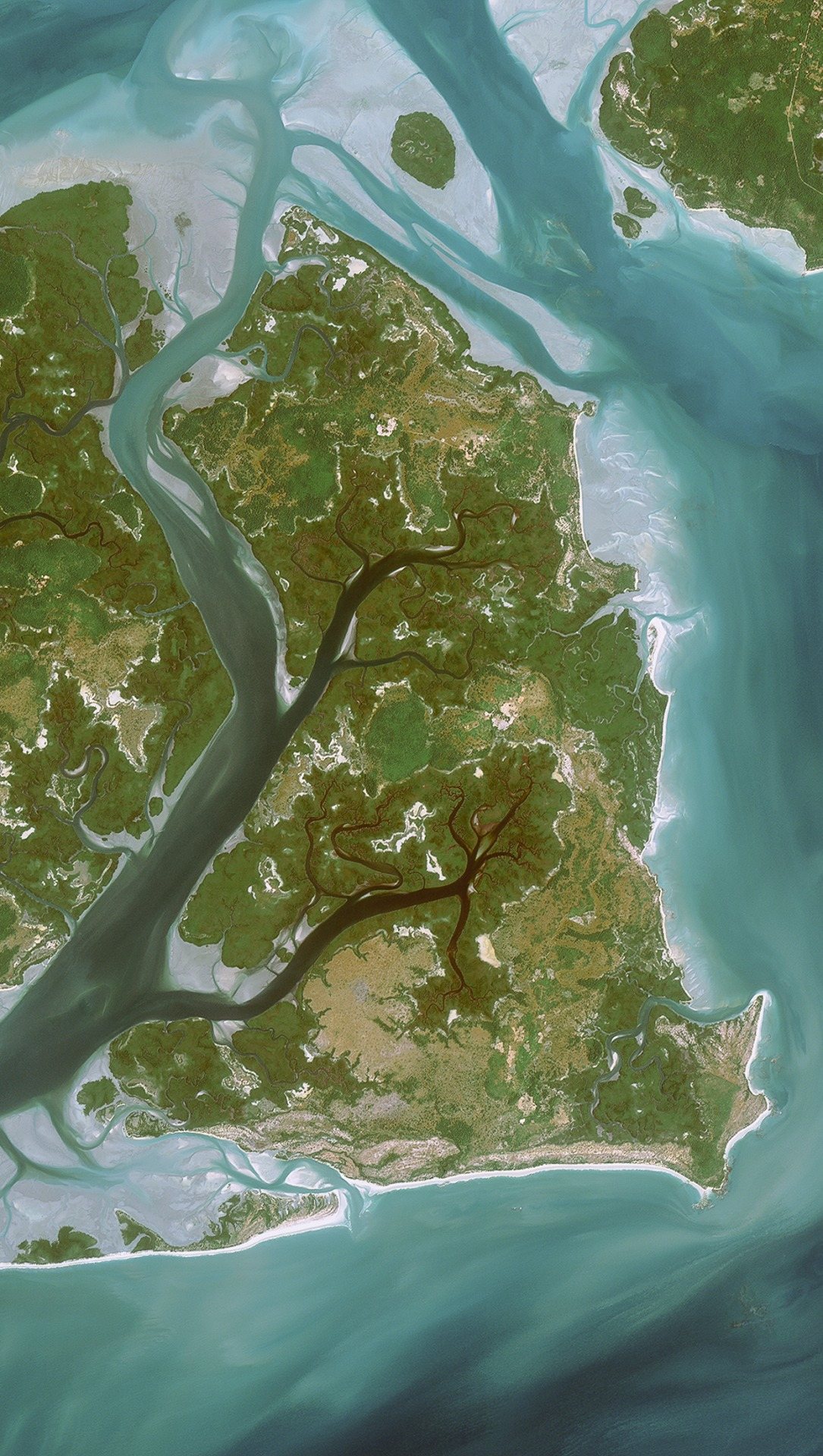 Aerial Wallpapers, taken from space