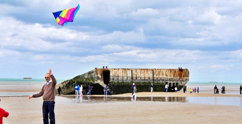 What D-Day Beaches Look Like Today