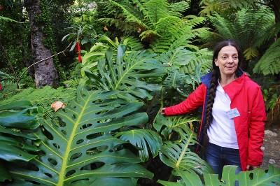 Tour guide at Monserrate Park
