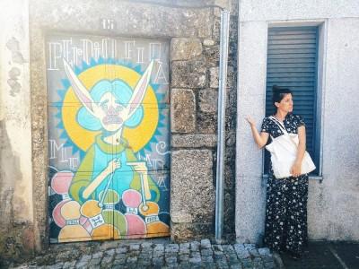 Street art in Covilhã