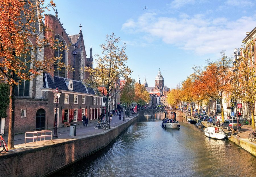 Amsterdam in the Fall Season