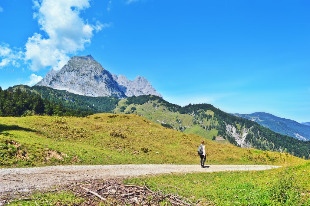 Hiking solo in Austria
