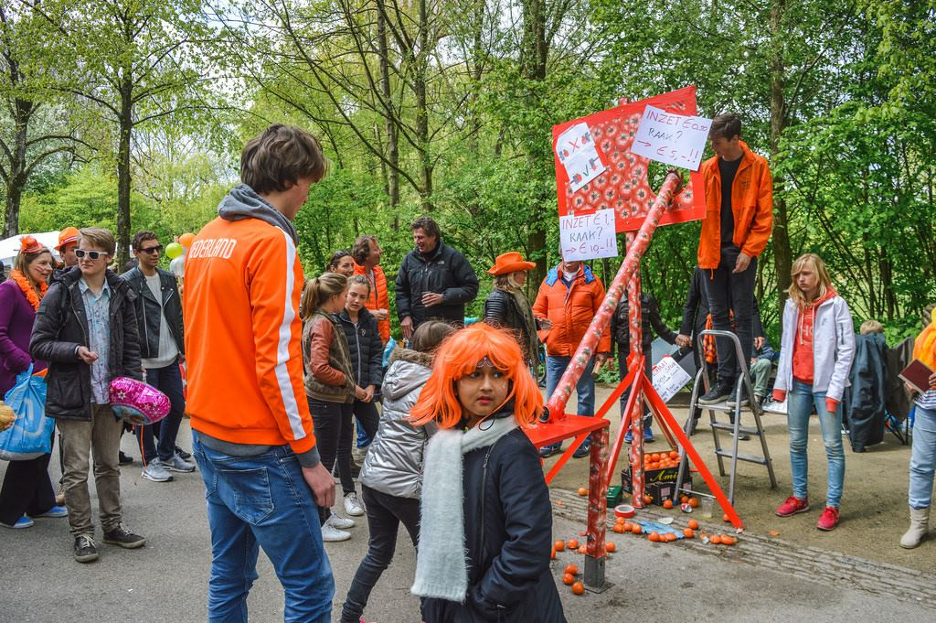 King's Day at Vondelpark, Amsterdam