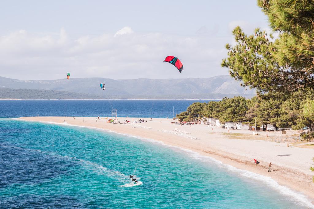 Kitesurfing in Dalmatia