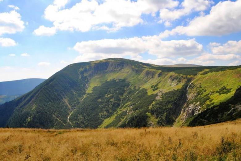 Climbing Snezka Mountain
