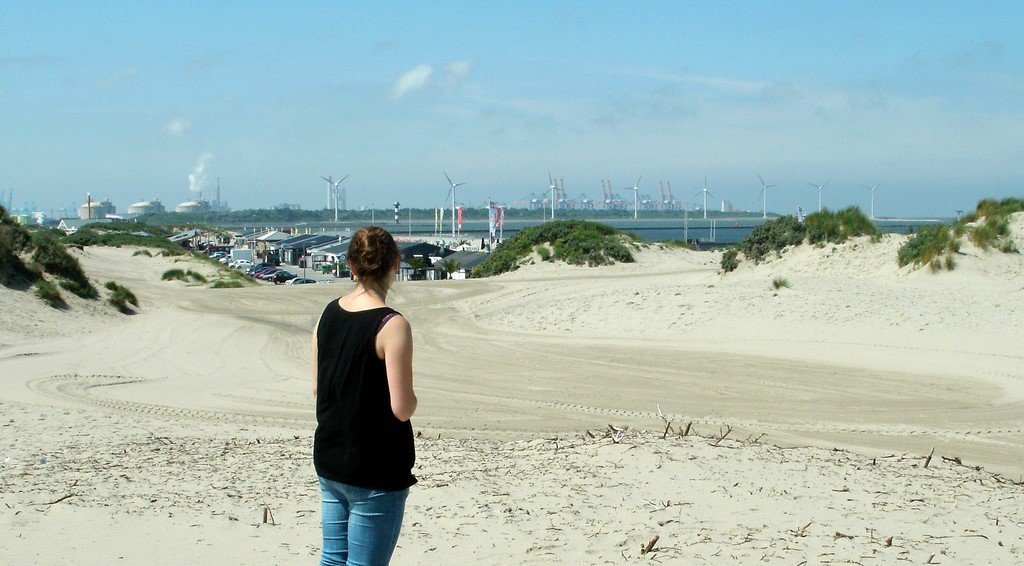 Going to the Beach near Rotterdam: Hoek van Holland
