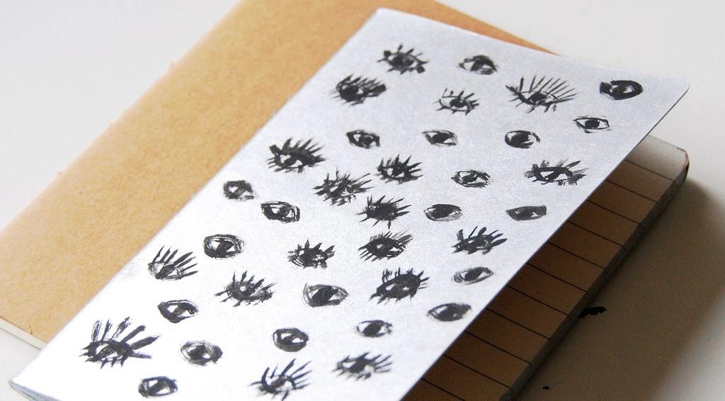 DIY Eye Notebook