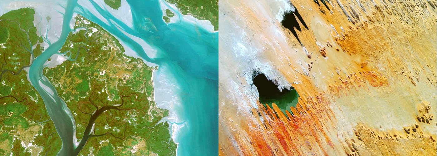 Aerial Wallpapers Show the Beauty of Planet Earth