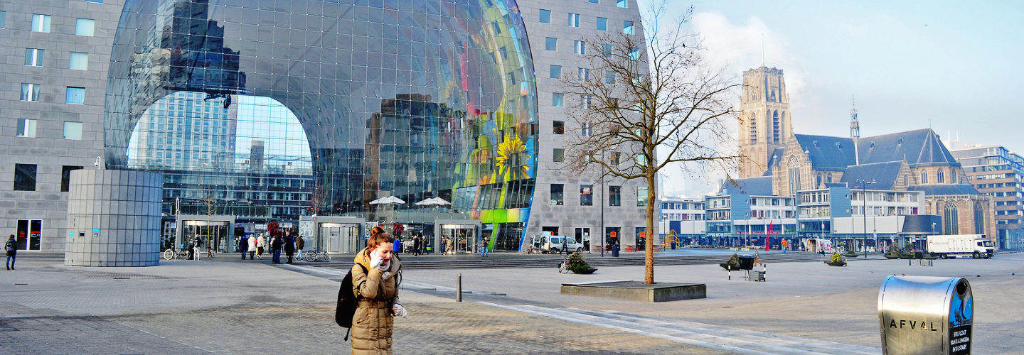 The Markthal: Sistine Chapel of Rotterdam