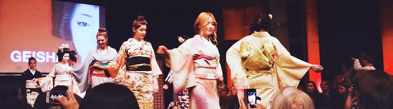 Kimono Fashion Show in Leiden