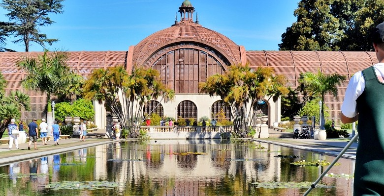 Botanical Building in Balboa Park, San Diego,