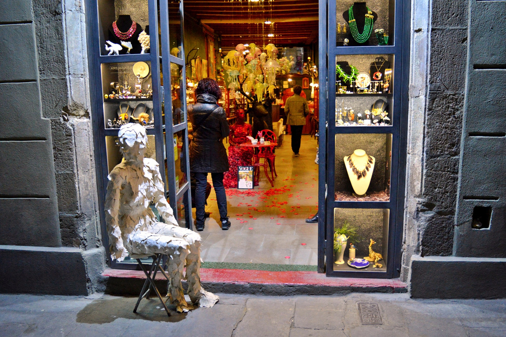 Shop in Barri Gòtic.