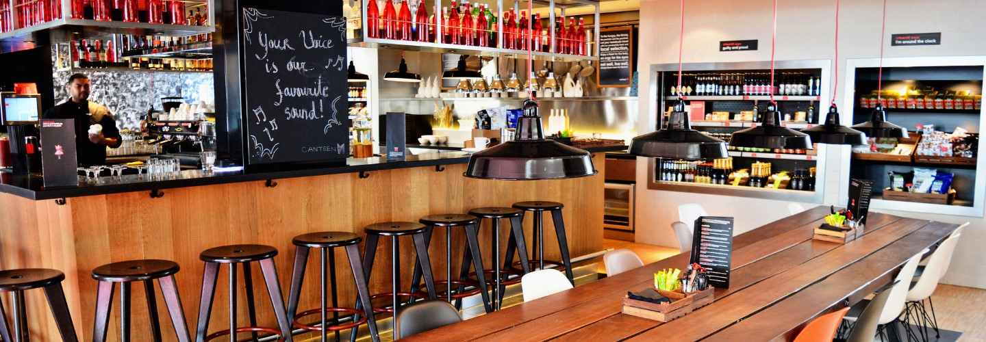 Hotspots in Amsterdam-Zuid: Lunch at CanteenM