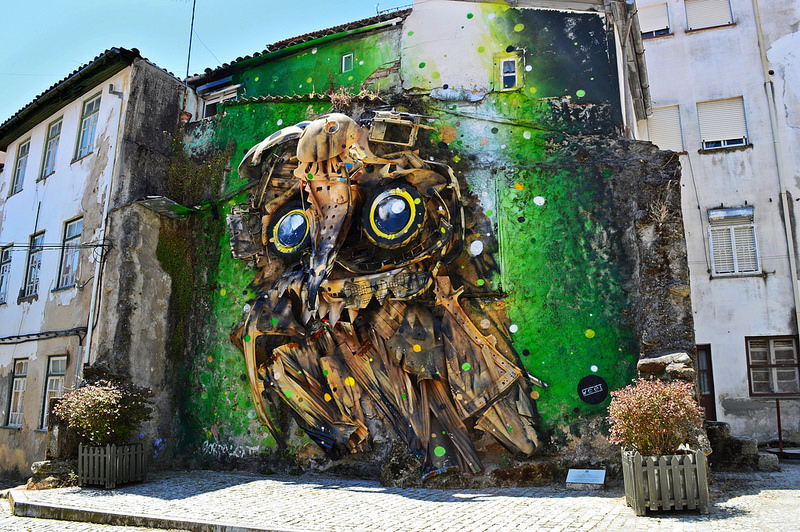 Street art in Covilhã