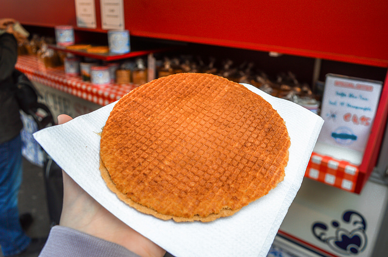 Traditional Dutch Stroopwafel