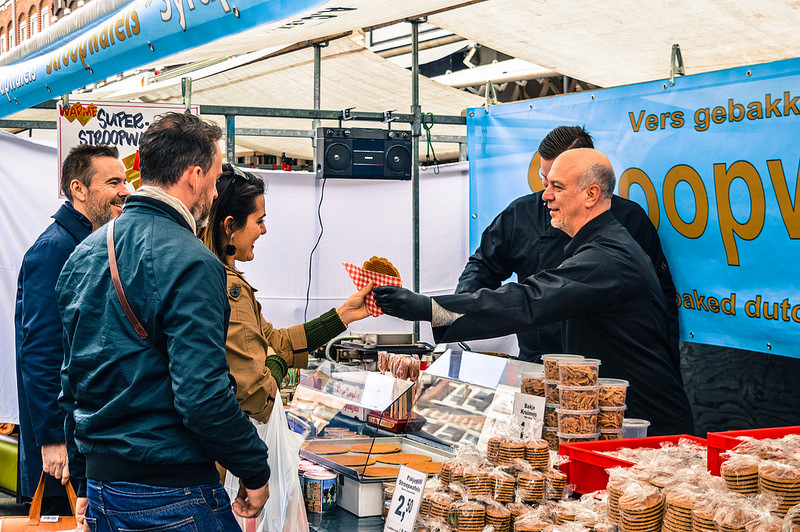 Stroopwafels at the Albert Cuyp Market
