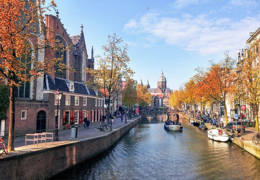 Amsterdam in the Fall Season