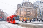 Transport in Amsterdam in December