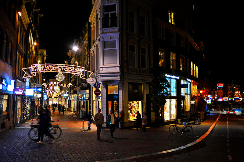 Kalverstraat in December