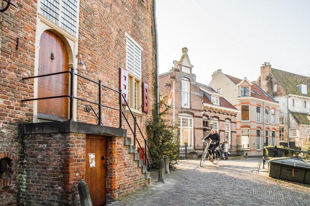 The Muurhuizen street in Amersfoort