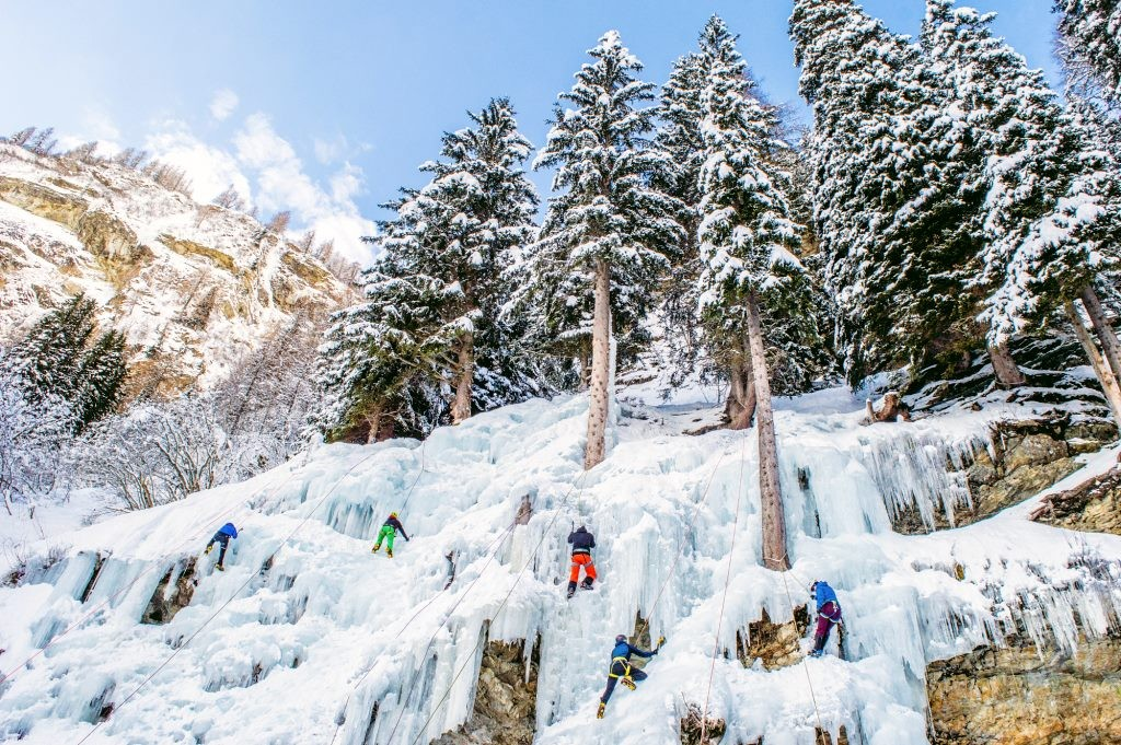Ice Climbing in Hohe Tauern National Park