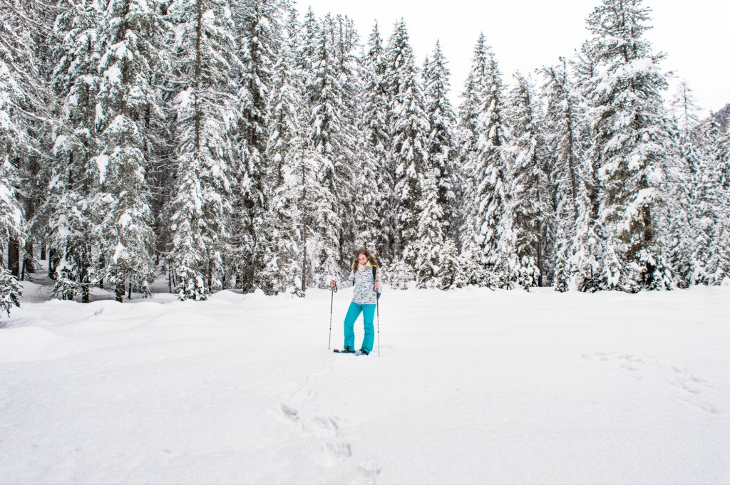 Snow hiking in Hohe Tauern National Park