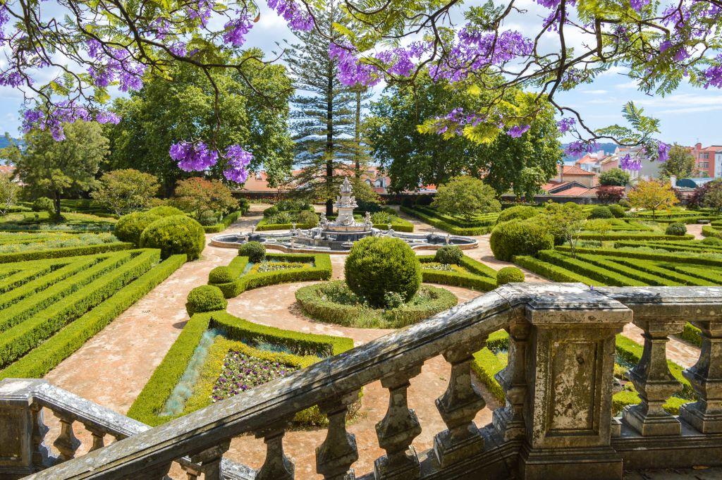The oldest botanical garden in Portugal