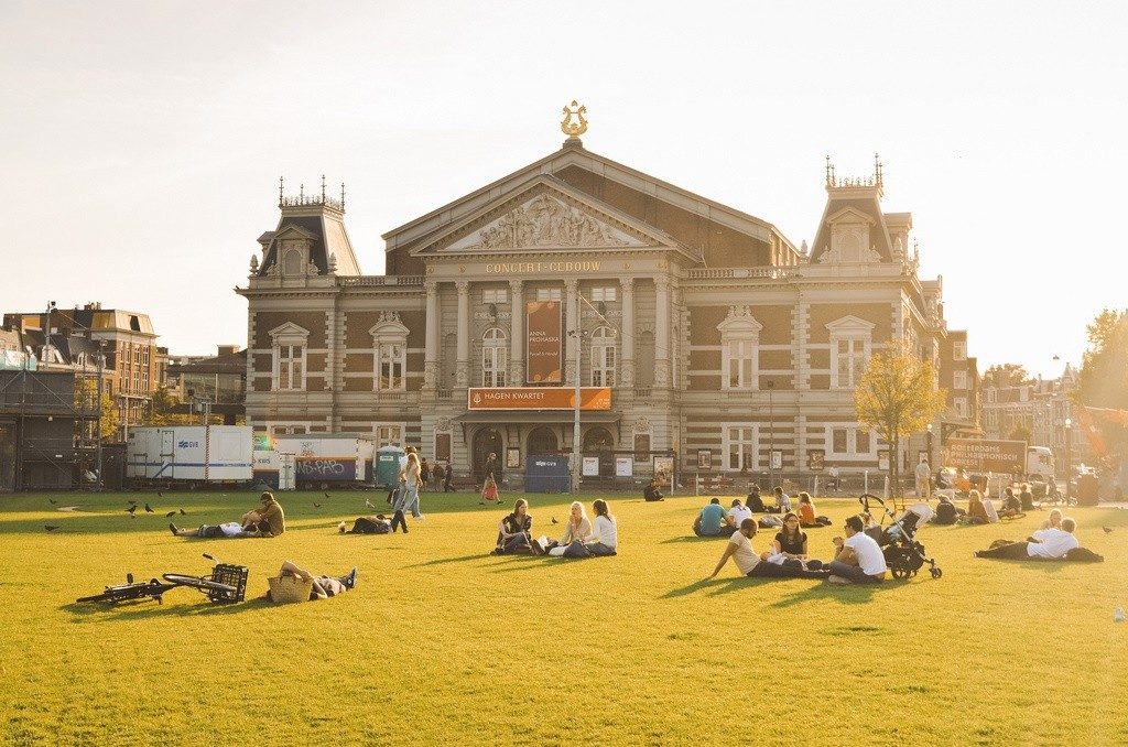 Best Things to Do in Amsterdam-Zuid: Enjoy a sunny day at the Museum Square