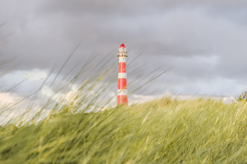 The lighthouse on Ameland, Friesland.