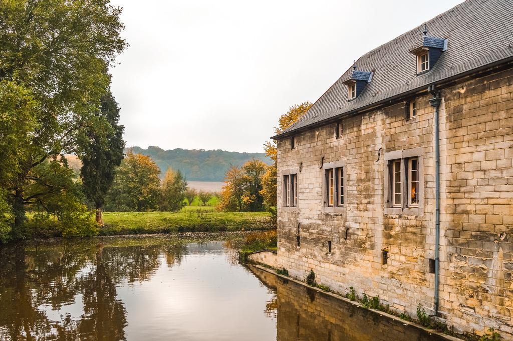 Kasteel Schaloen (Schaloen Castle) in Valkenburg, Limburg