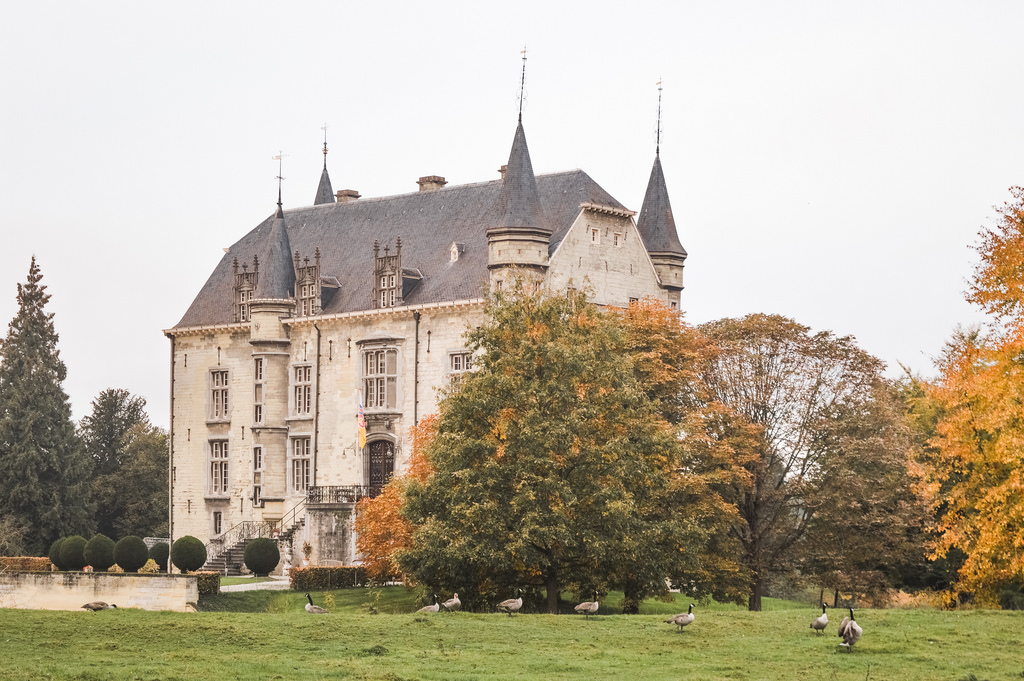 Schaloen Castle in Valkenburg