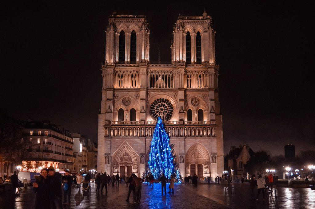 Notre-Dame in December