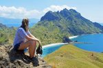 Enjoying the view at Padar (Komodo National Park).