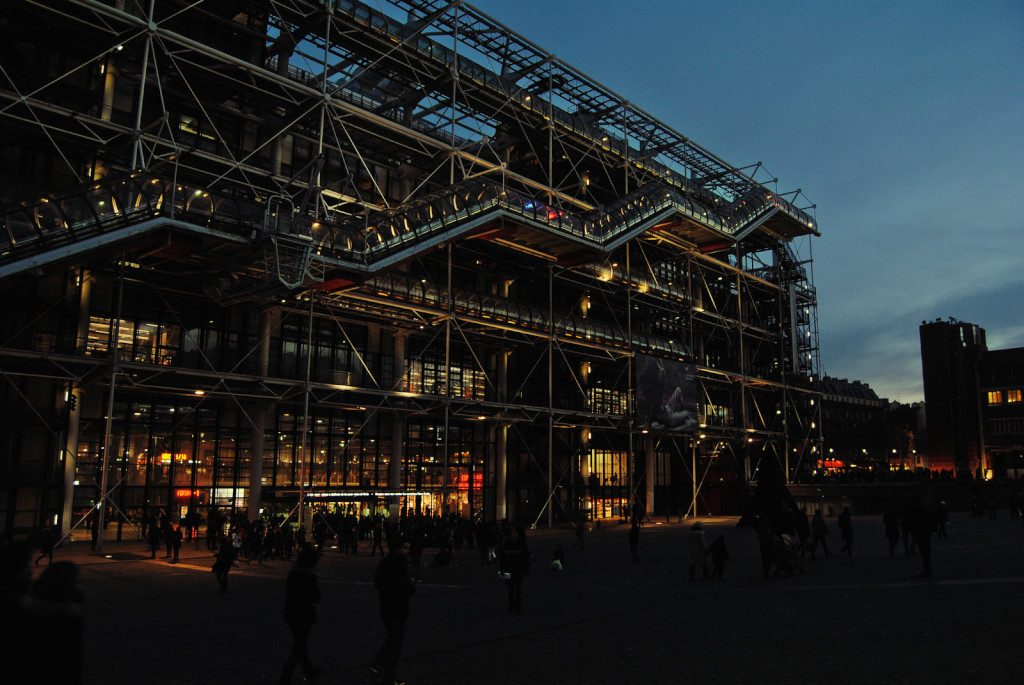 Centre Pompidou by Night