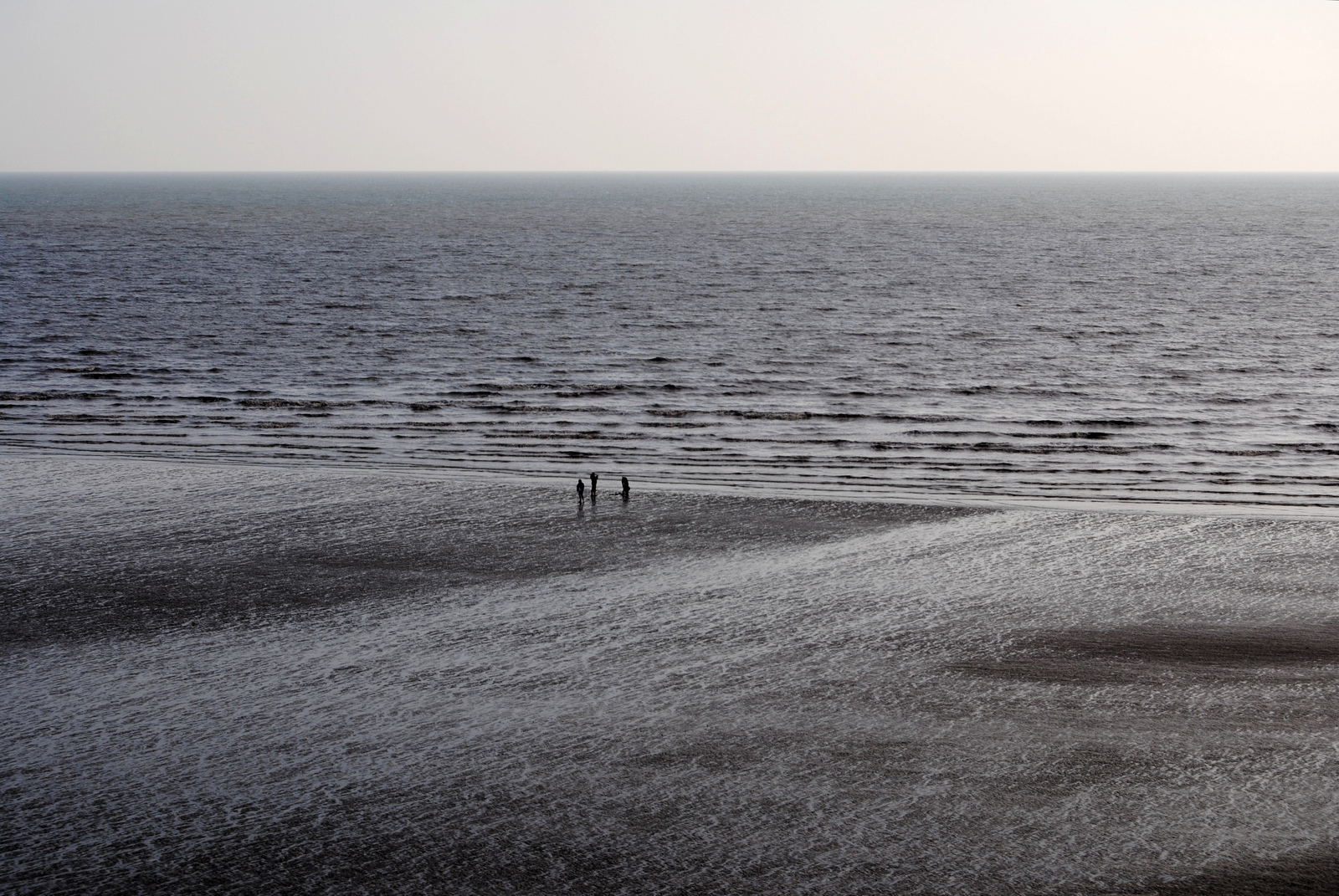 The view of the Sea from Pendine Sands