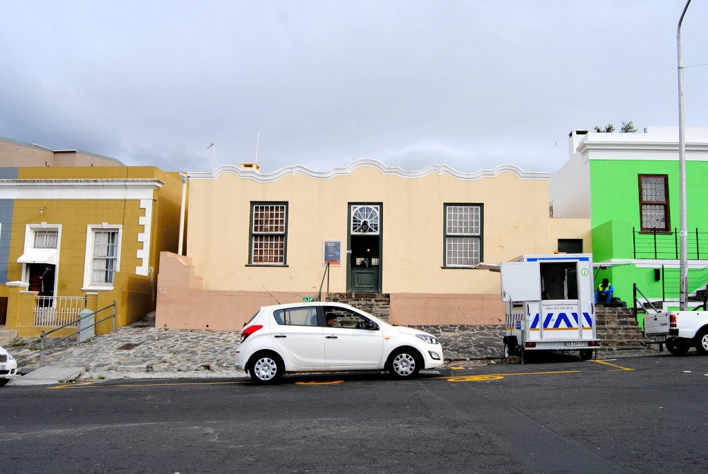 The Bo-Kaap museum in Cape Town
