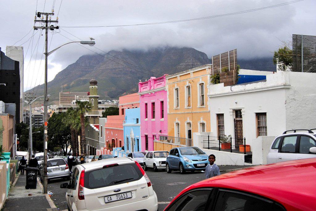 Street in the Bo-Kaap in Cape Town