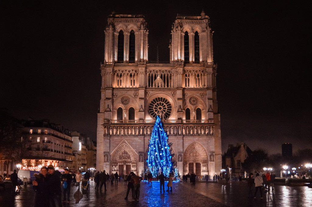 Notre Dame in December