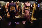 Kimono on display at Geisha Exhibition in Leiden