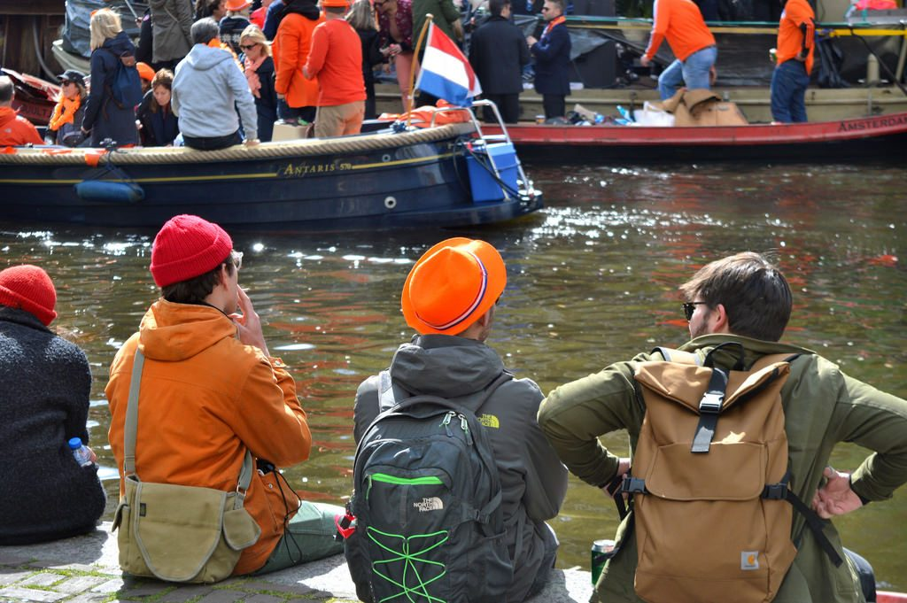 King's Day on the Amsterdam Canals (2017)
