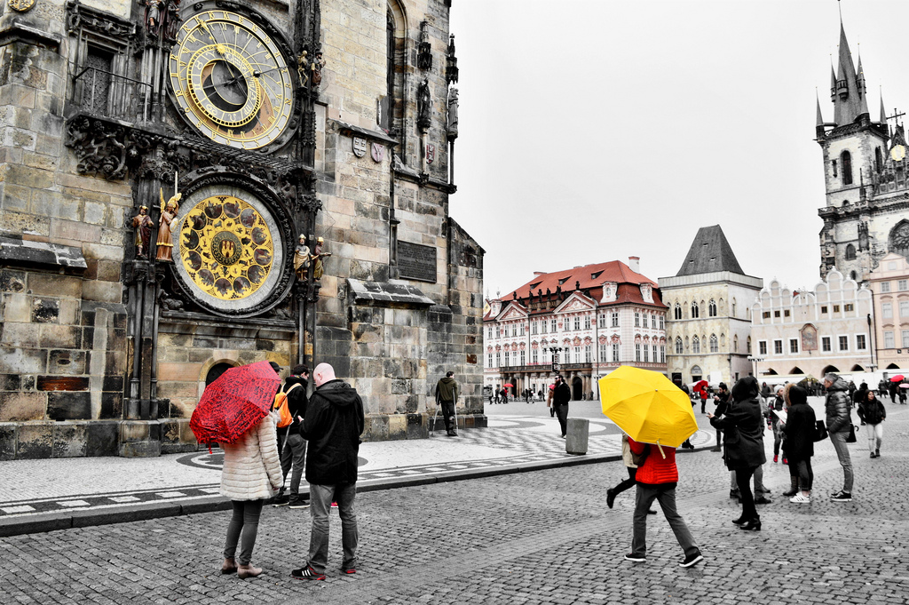 When You Lose the Magic of Being Lost (Notes from a Rainy Day in Prague)