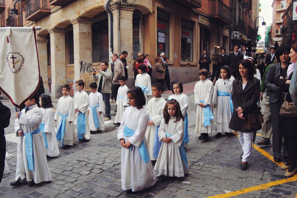 Semana Santa Procession in Benavente