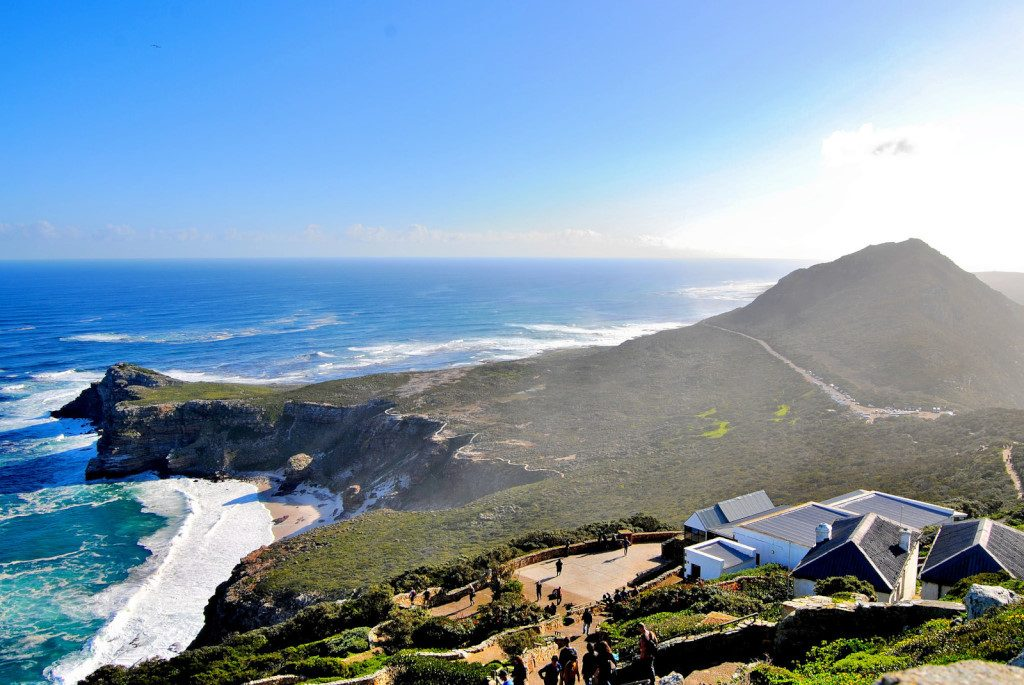 View from the lighthouse at Cape Point