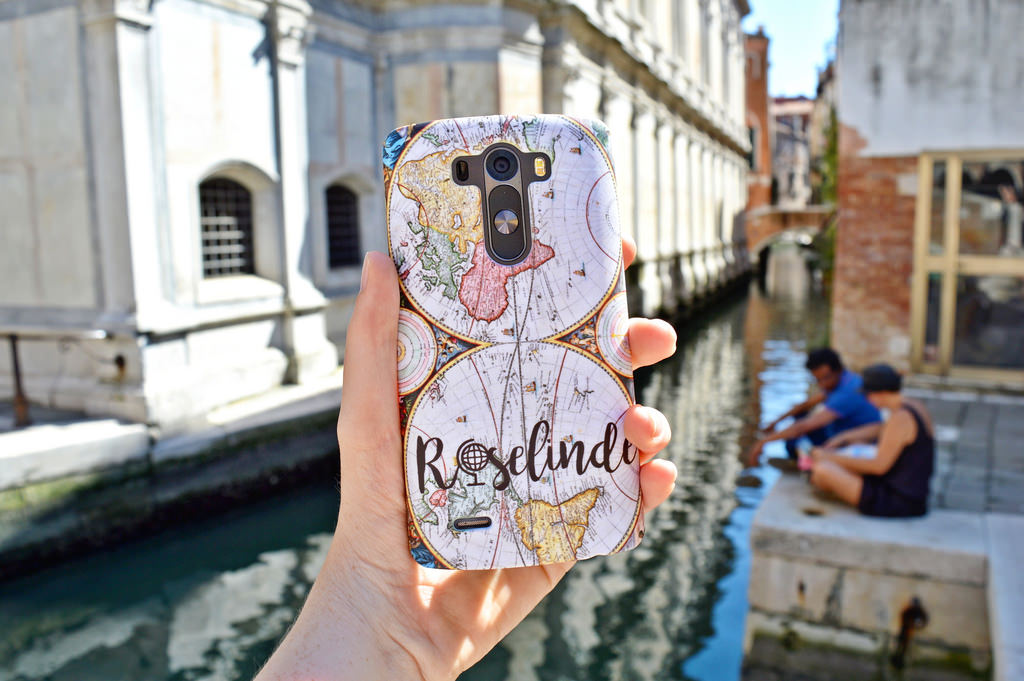 Favourite Travel Gadgets: my phonecase with my name on it!