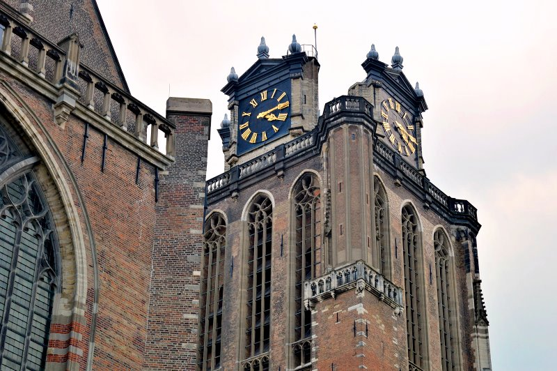 This church in Dordrecht is the second oldest in the city