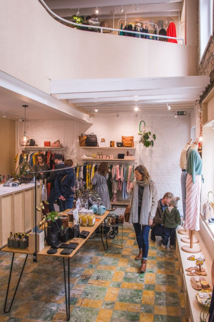 Concept store LILY sells fashion and accessories