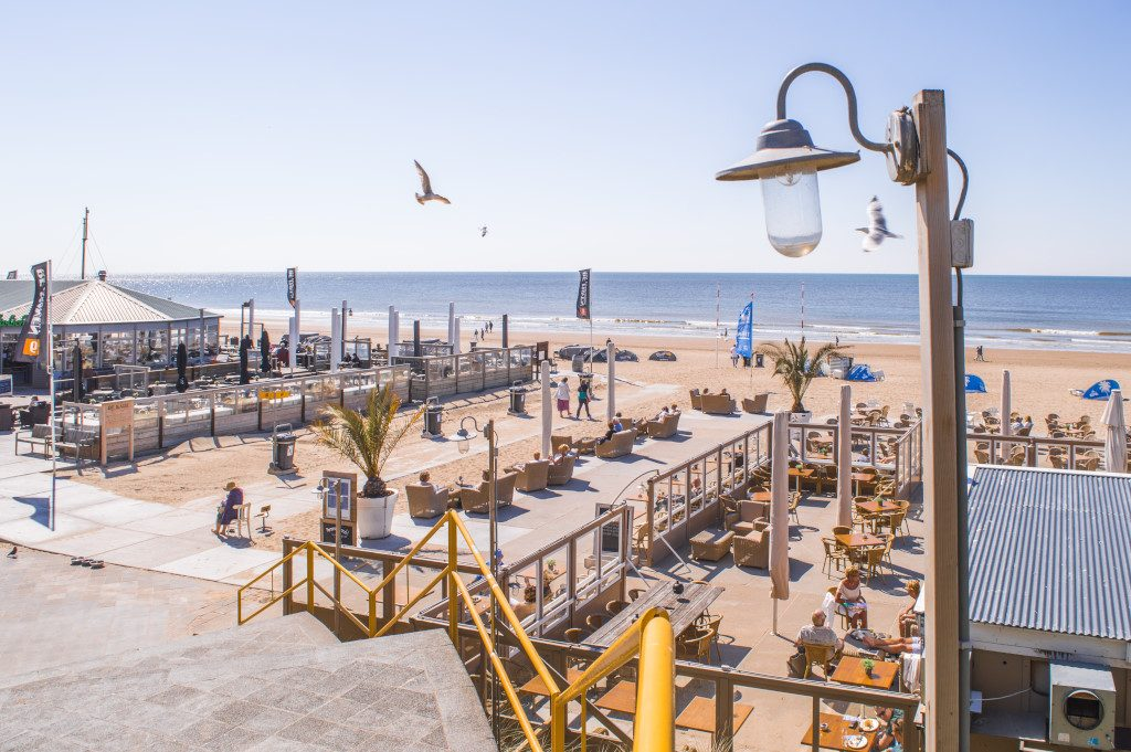 Zandvoort Beach is the best beach for a seaside day trip from Amsterdam