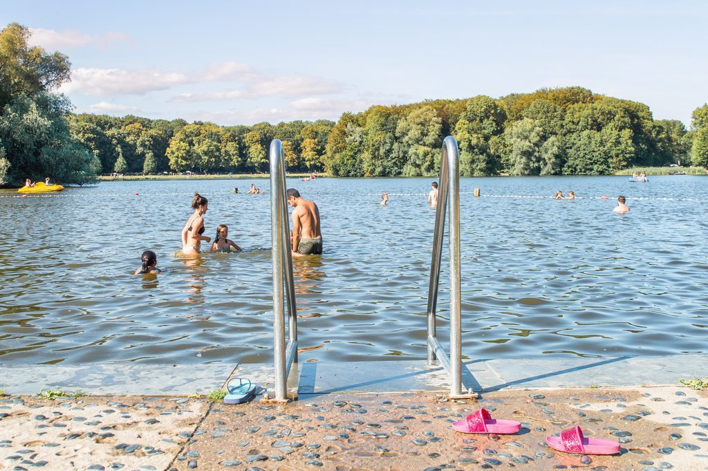 The Amsterdamse Bos is one of the best outdoor swimming locations in Amsterdam.