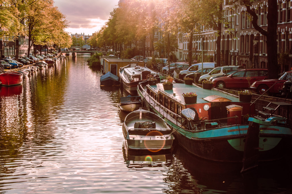 When Autumn Arrives in Amsterdam